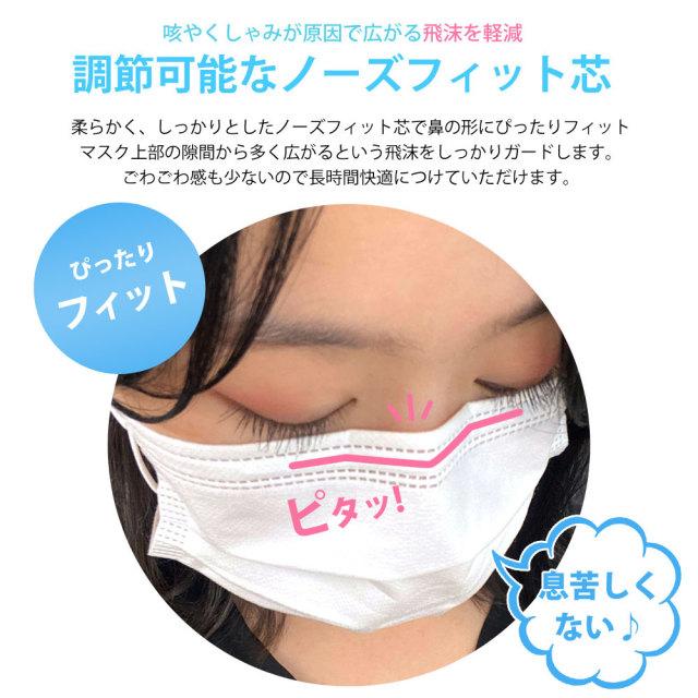 ぴったり フィット 使い捨て マスク