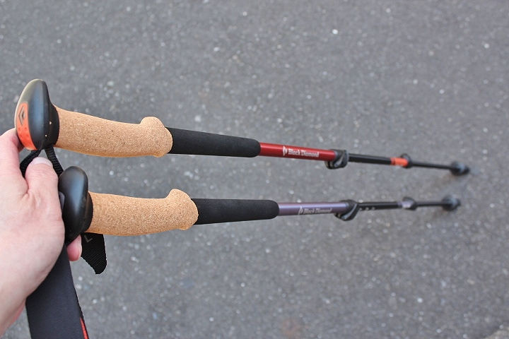 Black Diamond Trail CORK Trekking Poles