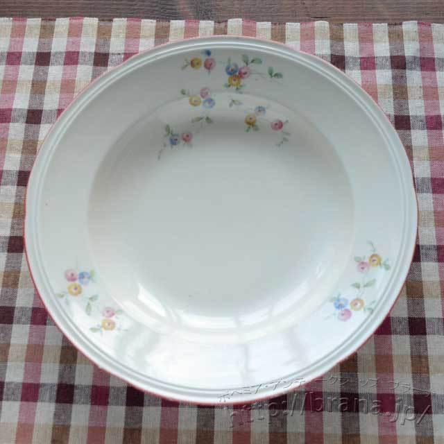 チェコヴィンテージスープ皿