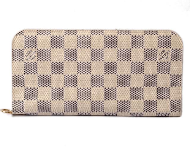 ルイヴィトン 財布 LOUIS VUITTON 長財布/ポルトフォイユ・アンソリット ダミエ・アズール N63072