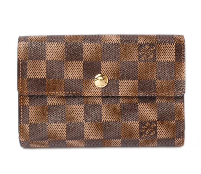 ルイヴィトン 財布 LOUIS VUITTON 3折財布 ポルトフォイユ・アレクサンドラ ダミエ N63067