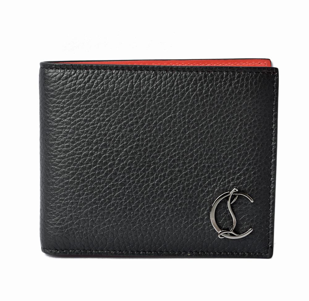 クリスチャンルブタン 財布 Christian louboutin 折財布/Coolcard Wallet BLACK/ブラック 3195053