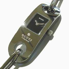 グッチ レディース時計 6100L シルバー 未使用品