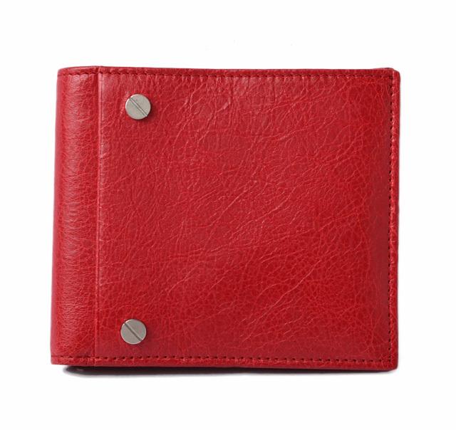 バレンシアガ 財布 メンズ  BALENCIAGA 札入れ/折財布 CLASSIC クラシック レッド 286089