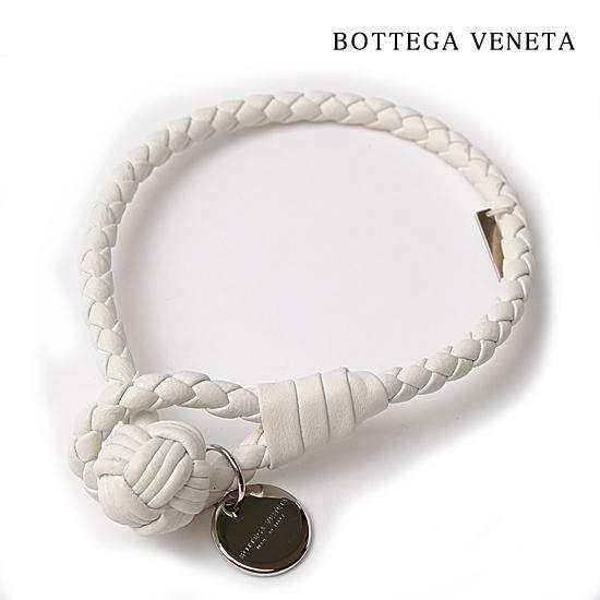 25%off BOTTEGA VENETA ボッテガ ヴェネタ イントレチャート ブレスレット/バングル ミルク 114095 V001D 9012【新品】【送料無料】