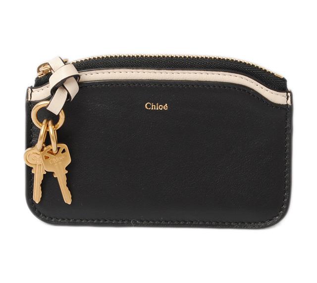 クロエ コインケース/カードケース Chloe NICOL/ニコル BLACK/ブラック 3P0914-H1Z