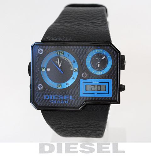 【送料無料】ディーゼル DIESEL メンズ 腕時計 トリプルタイム ブラック DZ7103 新品