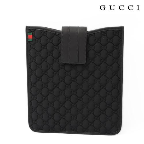 GUCCI グッチ iPad専用ケース ブラック ネオプレンGG 256575 FPOGX 1060 【新品】【送料無料】