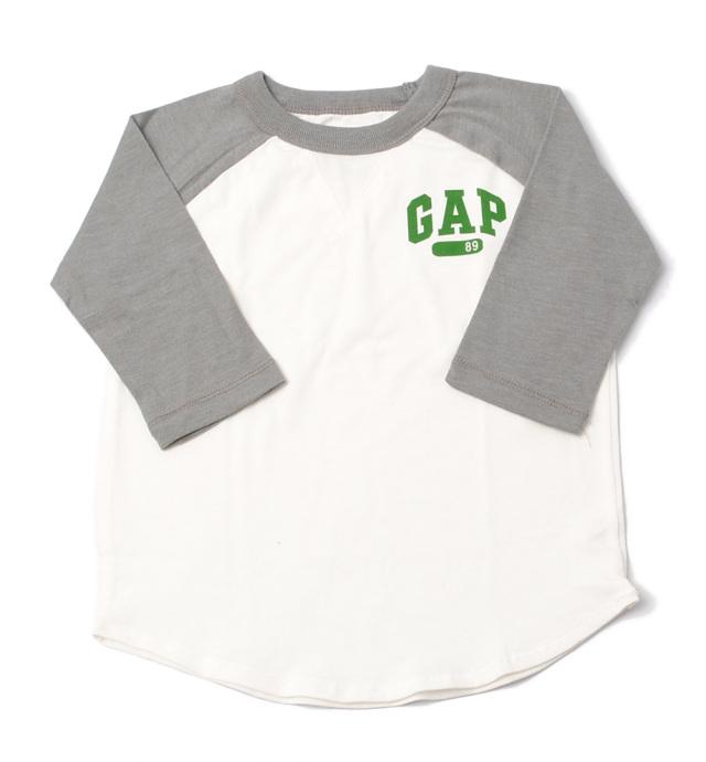 GAP ギャップ キッズ パジャマ/ルームウェア 家着 キッズ 男の子 出産祝い GAP BOY 長袖上下セット ホワイト/グレー