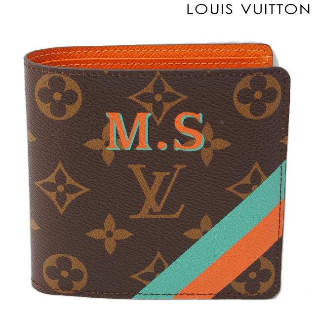 ルイヴィトン LOUIS VUITTON 折財布/ポルトフォイユ・マルコ M61675 モノグラム