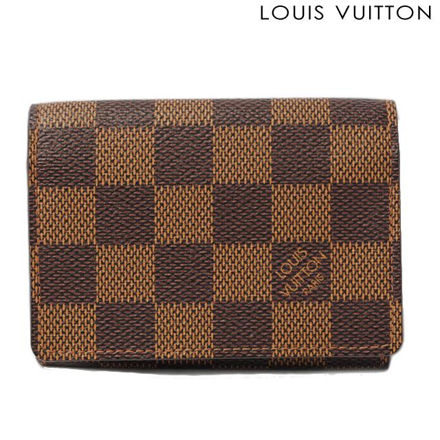 ルイヴィトン LOUIS VUITTON 名刺入れ/カード入れ アンヴェロップ・カルト ドゥ ヴィジット ダミエ N62920