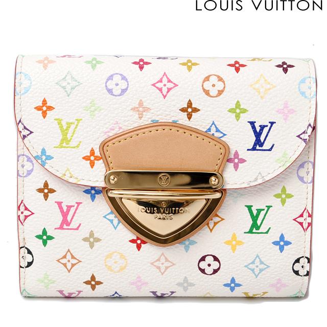 ルイヴィトン LOUIS VUITTON 3折財布/ポルトフォイユ・ジョイ マルチカラー ブロン/リッチ M60281