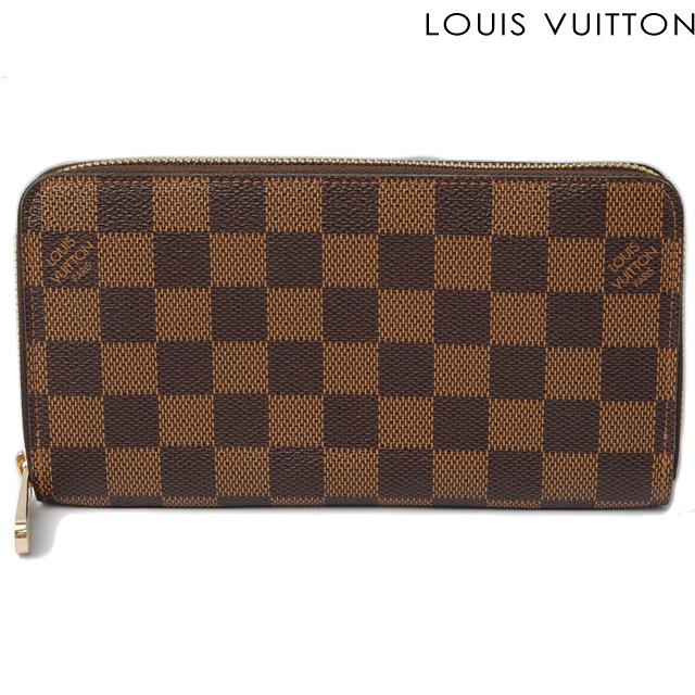 ルイヴィトン LOUIS VUITTON 長財布 ジッピー・ウォレット N60015 ラウンドファスナー式 ダミエ