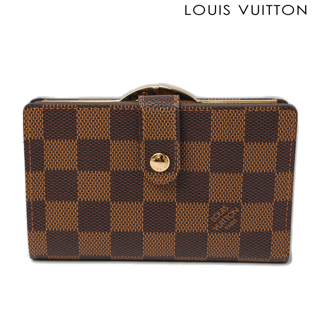 ルイヴィトン LOUIS VUITTON 折財布/ポルトフォイユ・ヴィエノワ N61674 がま口 ダミエ