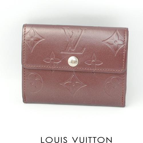 【送料無料】廃盤品 ルイヴィトン LOUIS VUITTON モノグラム・マット コイン・カードケース (ラドロー) M65126 中古A
