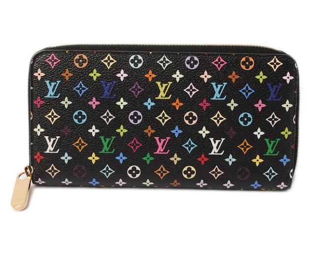 ルイヴィトン 財布 LOUIS VUITTON 長財布/ジッピー・ウォレット M60243 モノグラム・マルチカラー グルナード