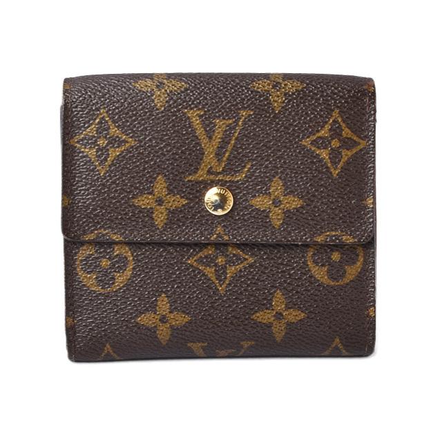 ルイヴィトン 財布 モノグラム LOUIS VUITTON 折財布 ダブルホック/ポルトフォイユ・エリーズ M61654