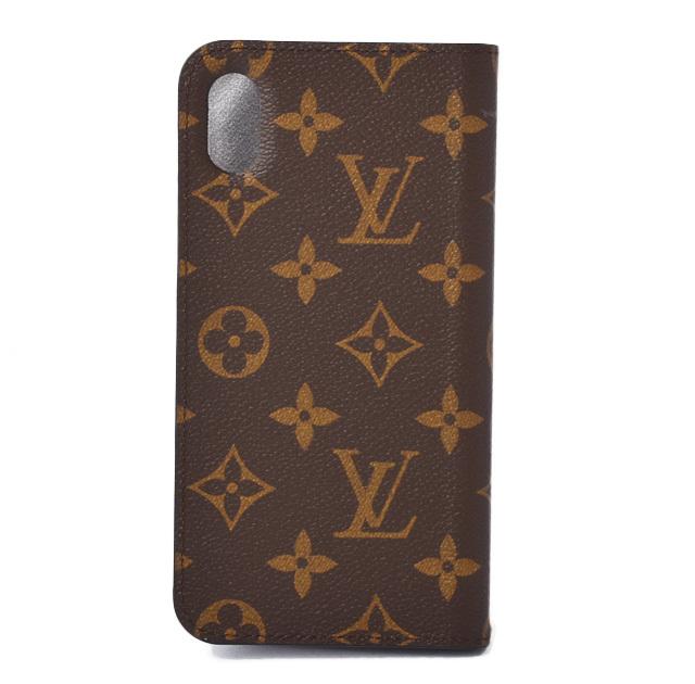 ルイヴィトン iPhone XS MAXケース/iPhone カバー LOUIS VUITTON iPhone XS MAX フォリオ モノグラム M67480 招き猫 ゴールドスタンプ付