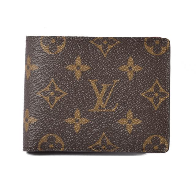 ルイヴィトン 財布 メンズ LOUIS VUITTON 2折財布/札入れ ポルト ビエ 9カルト クレディ M60930 モノグラム【中古】
