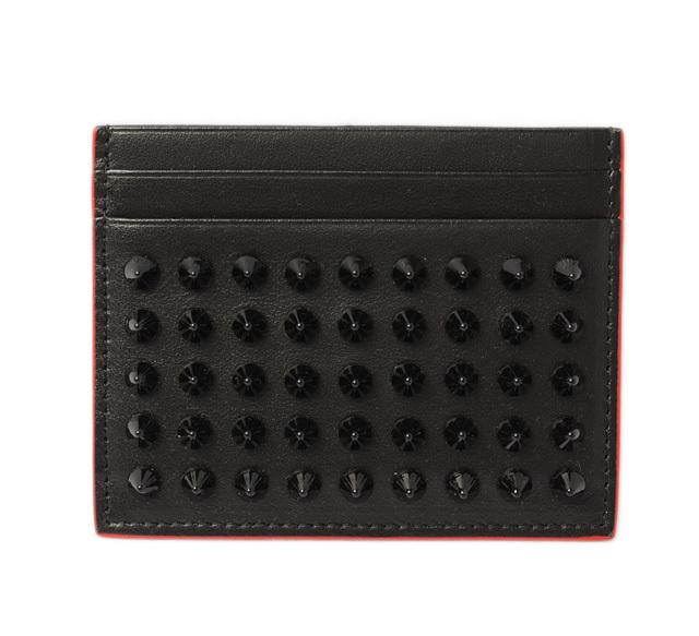 クリスチャンルブタン カードケース/名刺入れ Christian louboutin Kios Simple BLACK/ブラック 3165091 CM53