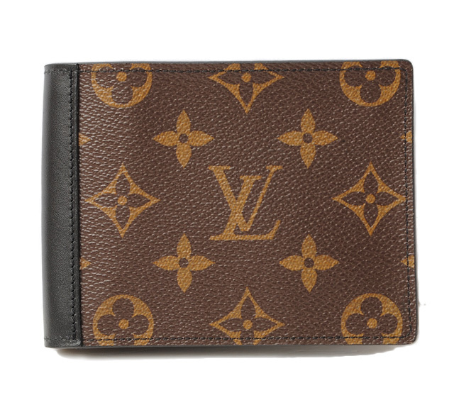 ルイヴィトン 財布 メンズ LOUIS VUITTON 折財布/ポルトフォイユ・ミンドロ M60411 モノグラム マカサー 未使用