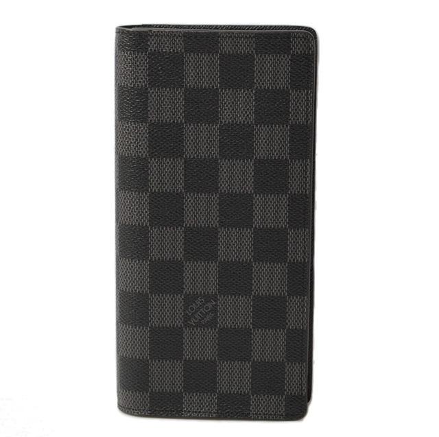 ルイヴィトン 財布 ダミエ・グラフィット LOUIS VUITTON 長財布/ポルトフォイユ ブラザ N62665 未使用
