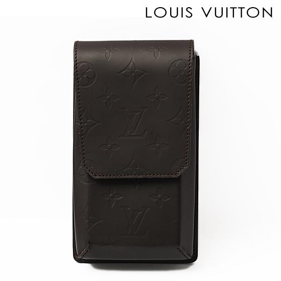 LOUIS VUITTON ルイ ヴィトン モノグラムグラセ メンズ ポーチ ハギー M54800【未使用】【送料無料】