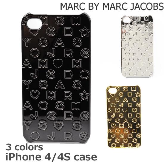 MARC BY MARC JACOBS(マークバイマークジェイコブス) iPhoneケース 4、4S対応 スターダスト ロゴ M6121042【新品】【送料無料】