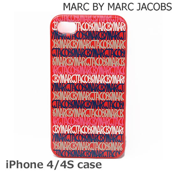 MARC BY MARC JACOBS(マークバイマークジェイコブス)iPhoneケース 4、4S対応 ライナー レッド M6121045【新品】【送料無料】