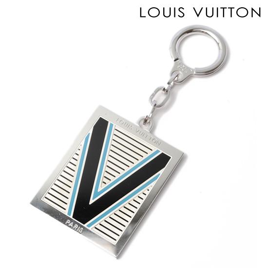 LOUIS VUITTON ルイ ヴィトン メンズライン キーリング/キーホルダー ポルトクレ V ブルー M65367【新品】【送料無料】
