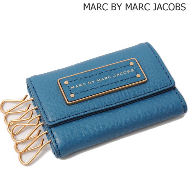 マークバイマークジェイコブス MARC BY MARC JACOBS キーケース 6連 BLUESTONE/ブルー M0001211