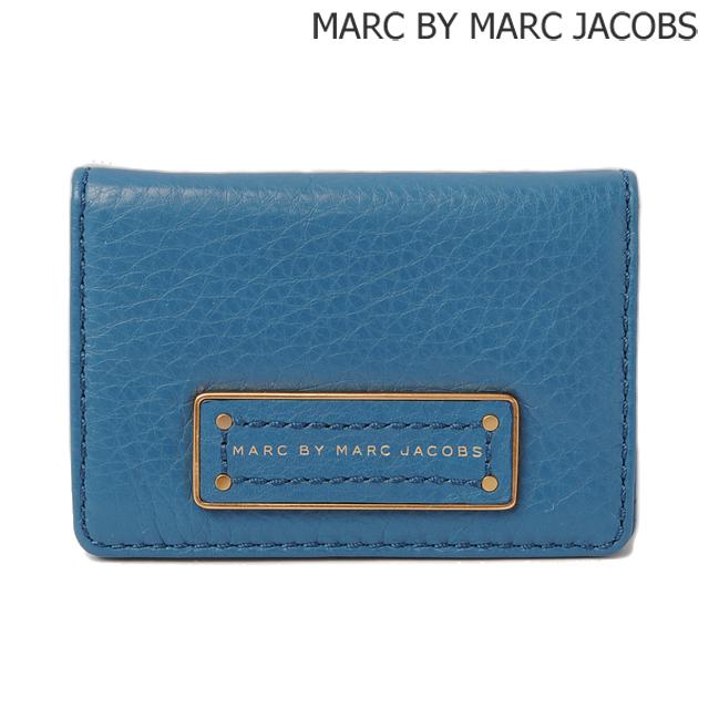 マークバイマークジェイコブス MARC BY MARC JACOBS カードケース/パスケース BLUESTONE/ブルー M0001213