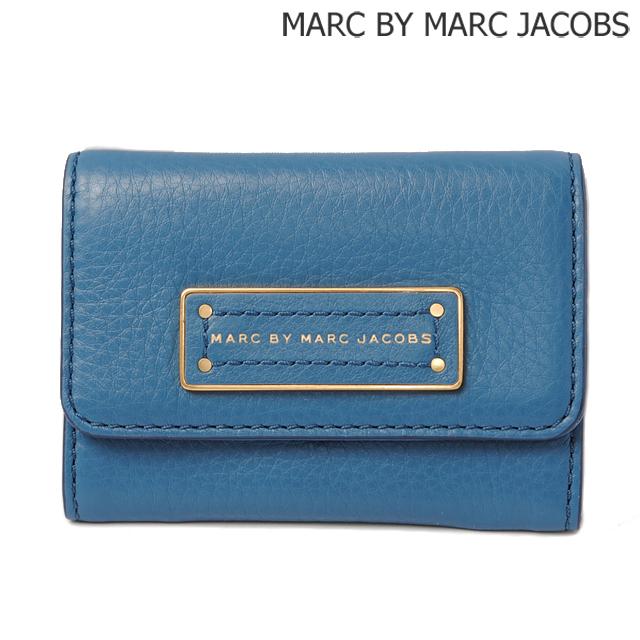 マークバイマークジェイコブス MARC BY MARC JACOBS カードケース/コインケース BLUE STONE/ブルー M0001210