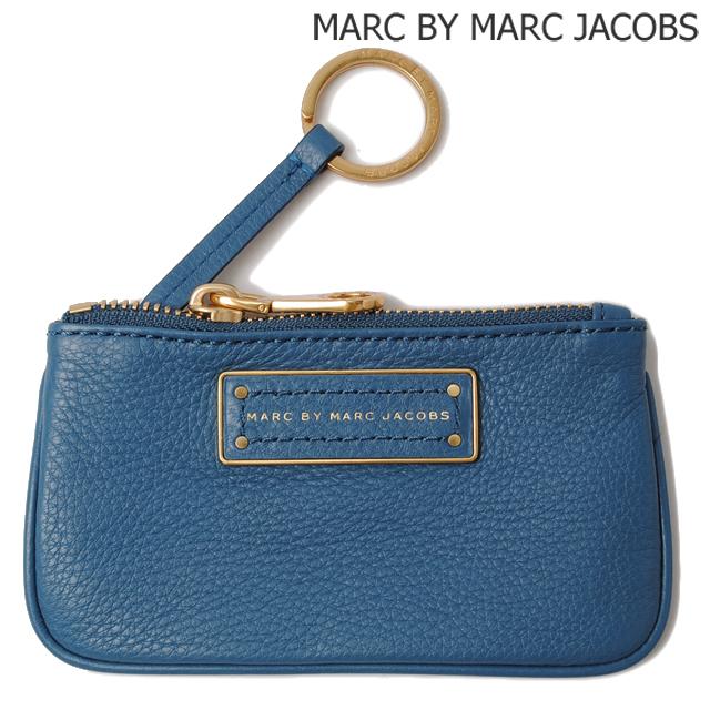 マークバイマークジェイコブス MARC BY MARC JACOBS キーケース/コインケース キーリング付 BLUESTONE/ブルー M0001209