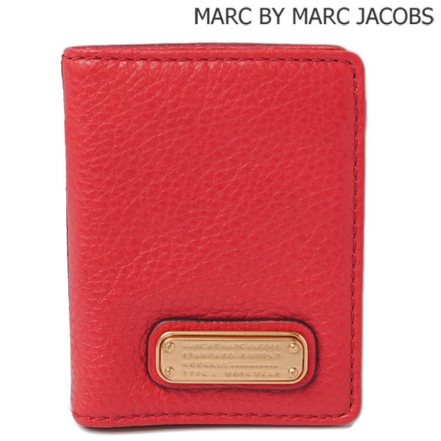 マークバイマークジェイコブス MARC BY MARC JACOBS カードケース/パスケース ROSEY RED MULTI/ローズレッド M0005360