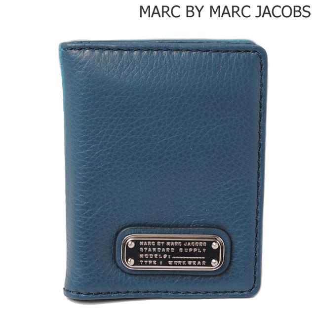 マークバイマークジェイコブス MARC BY MARC JACOBS カードケース/パスケース DEEP BLUE MULTI/ディープブルー M0005360