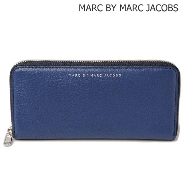 マークバイマークジェイコブス MARC BY MARC JACOBS 長財布/スリムジップ SKIPPER BLUE/ブルー M0005203