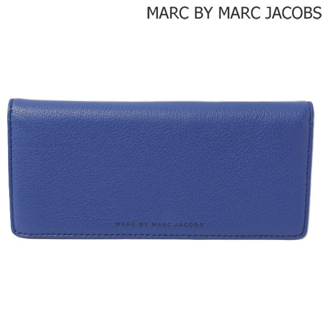 マークバイマークジェイコブス MARC BY MARC JACOBS 長財布 メンズライン レザー MINERAL BLUE/ブルー M0001007A