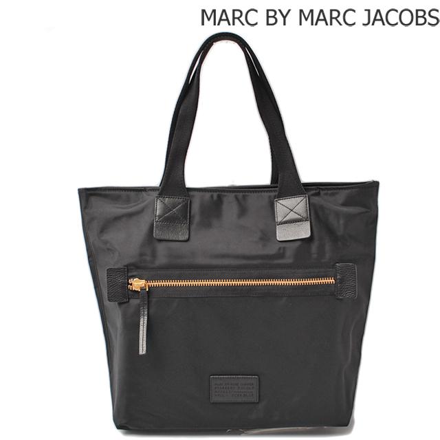マークバイマークジェイコブス MARC BY MARC JACOBS トートバッグ  ドーモ アリガト キャンバス ブラック M0006034