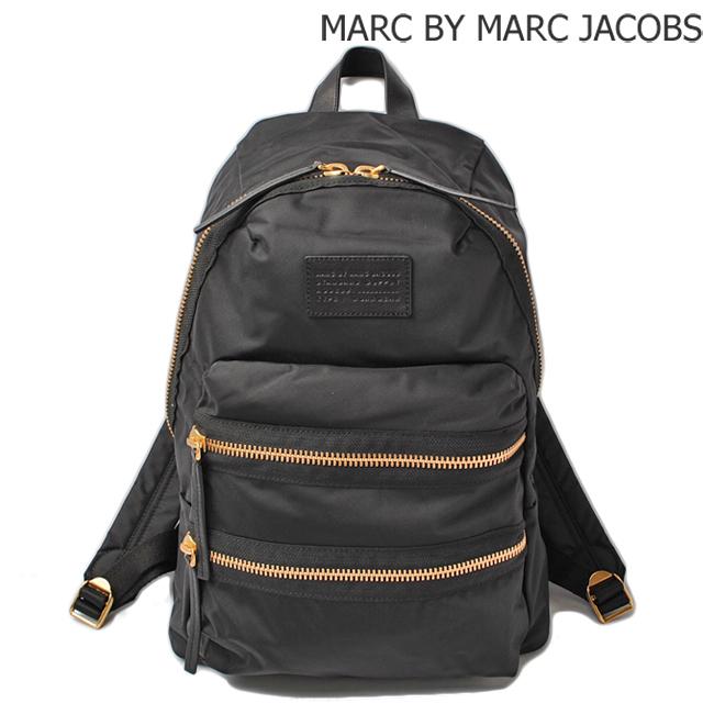 マークバイマークジェイコブス MARC BY MARC JACOBSリュックサック/バックパック ロコ ドーモ パックラット BLACK/ブラック M0002219