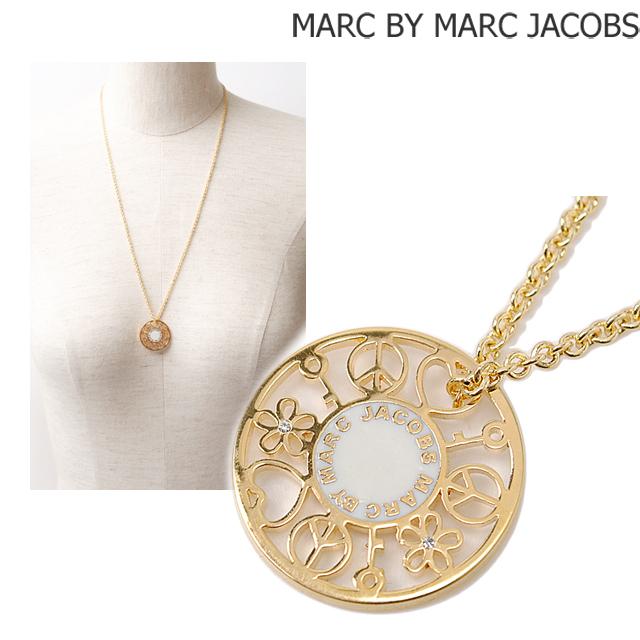 マークバイマークジェイコブス MARC BY MARC JACOBS ネックレス/ペンダント アクセサリー ハッピーハウス ゴールド/ベージュ M0005842