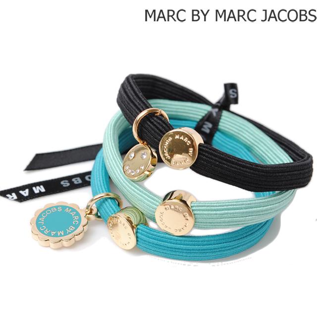 マークバイマークジェイコブス MARC BY MARC JACOBS 3連バングル/ヘアゴム ポニー アクセサリー WATER GREEN MULTI M0005735