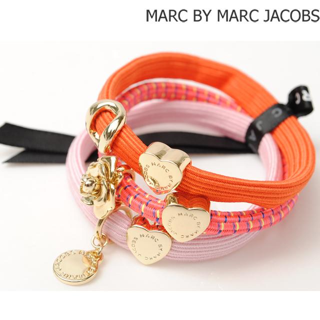 マークバイマークジェイコブス MARC BY MARC JACOBS 3連バングル/ヘアゴム ポニー アクセサリー PINK MULTI M0004963
