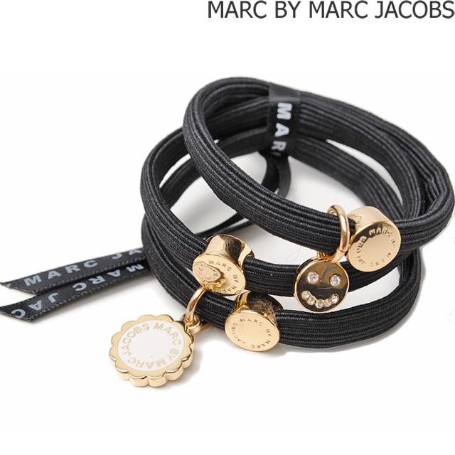 マークバイマークジェイコブス MARC BY MARC JACOBS 3連バングル/ヘアゴム ポニー アクセサリー BLACK MULTI M0005735