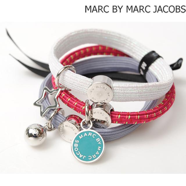 マークバイマークジェイコブス MARC BY MARC JACOBS 3連バングル/ヘアゴム ポニー アクセサリー PINK MULTI M0004964