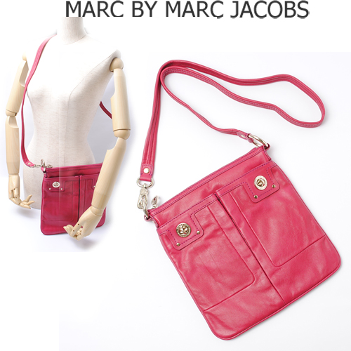 MARC BY MARC JACOBS(マークバイマークジェイコブス)ショルダーバッグ(ポシェット) ロング ベリー(BERRY)  M301004 新品