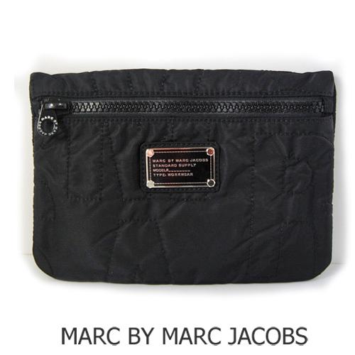 【送料無料】MARC BY MARC JACOBS(マークバイマークジェイコブス)トラベルポーチ ナイロン/ブラック M383437
