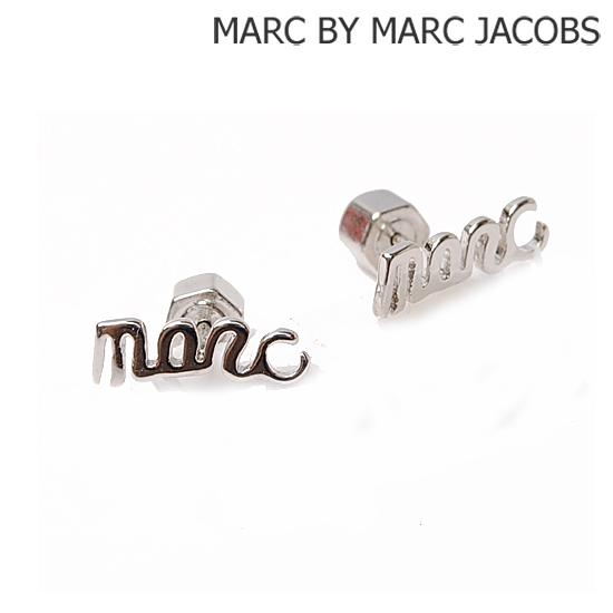 MARC BY MARC JACOBS マークバイマークジェイコブス アクセサリー ピアス ロゴ marc シルバー/ARGENTO M3PE520