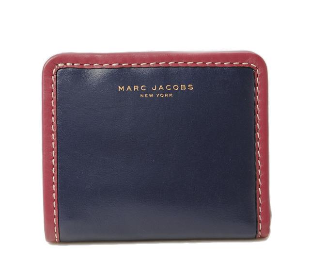 マークジェイコブス 財布 MARC JACOBS 折財布/マディソン オープン フェース ミッドナイトブルー M0008289