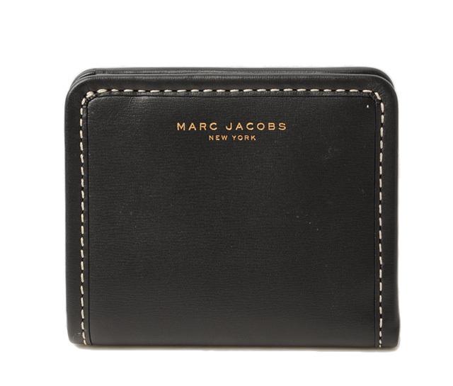 マークジェイコブス 財布 MARC JACOBS 折財布/マディソン オープン フェース ブラック M0008289